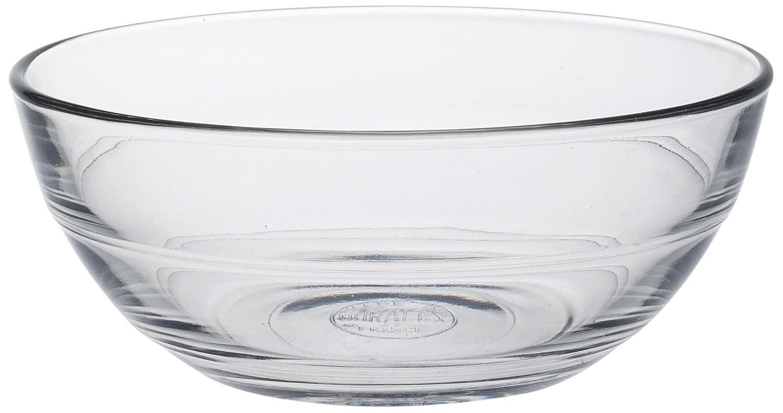 Duralex Lys 12 cm Clear Bowl, Pack of 6 2014AF