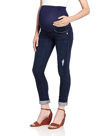 James Jeans Women's Maternity Neo Beau Boyfriend Cut Jean at ...