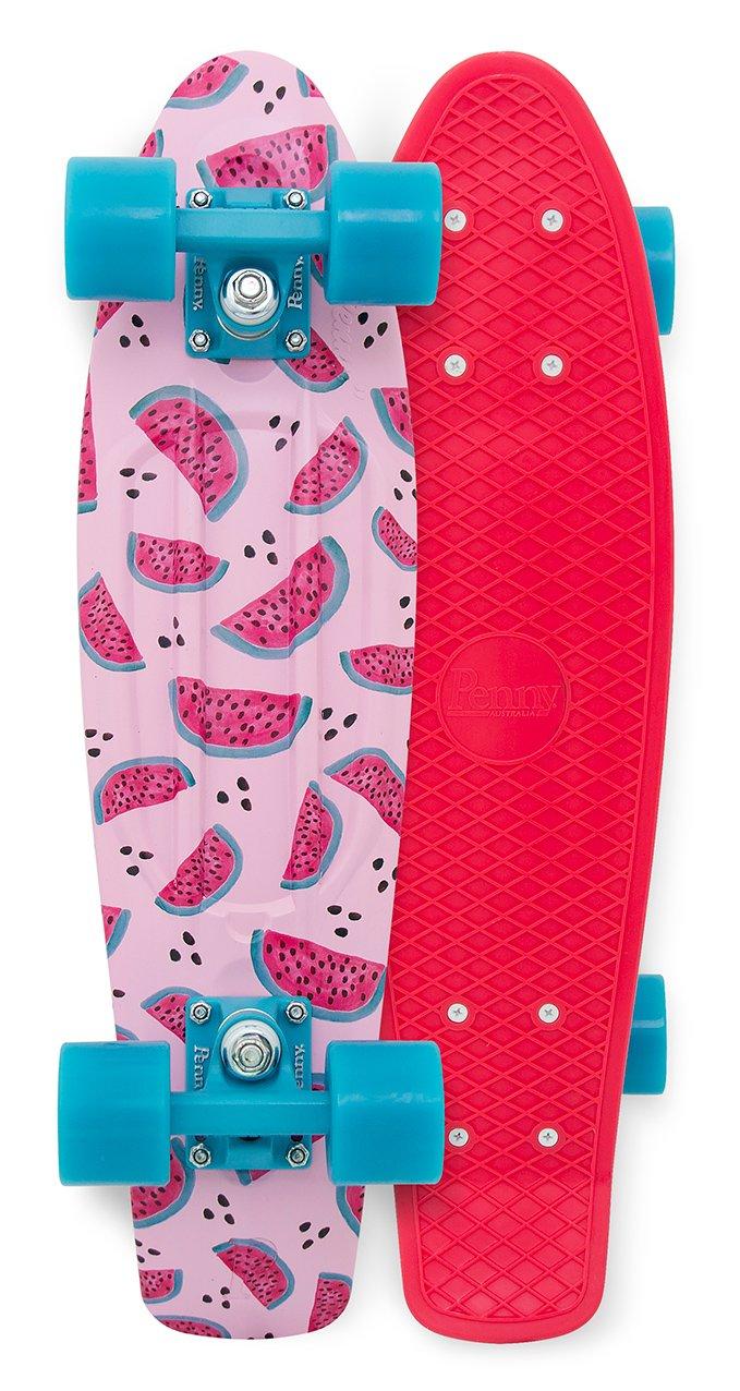 Penny Classics Complete Skateboard, Melon Mania, 22 L by Penny Australia