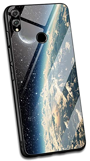 Amazon com: Yoodi Huawei Honor 8X Case, Tempered Glass Back
