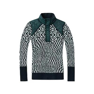Smartwool Ski Ninja Pullover Sweater - Women's Merino Wool Performance Sweater: Clothing