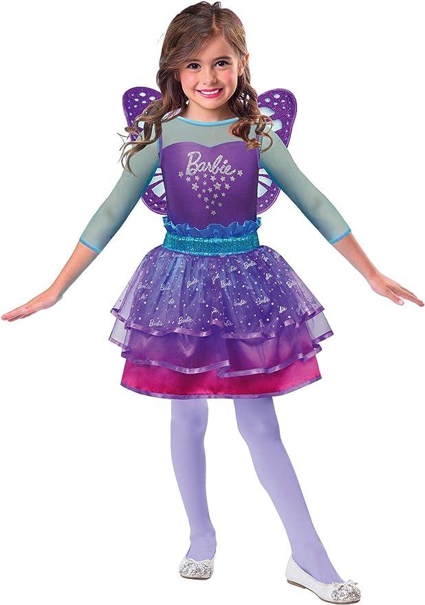 Amscan 9903284 - Disfraz de hada arcoíris de Barbie, para niña ...