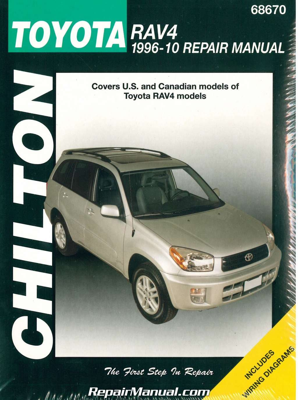 CH68670 Chilton Toyota RAV4 1996-2010 Repair Manual: Manufacturer:  Amazon.com: Books