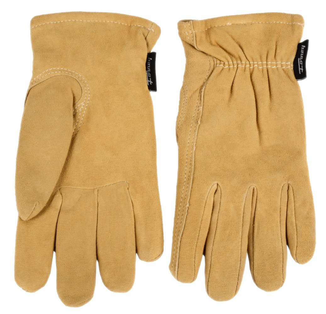 Insulated leather work gloves amazon - Forney 53119 Deerskin Leather Driver Suede Lined Women S Gloves Small Work Gloves Amazon Com