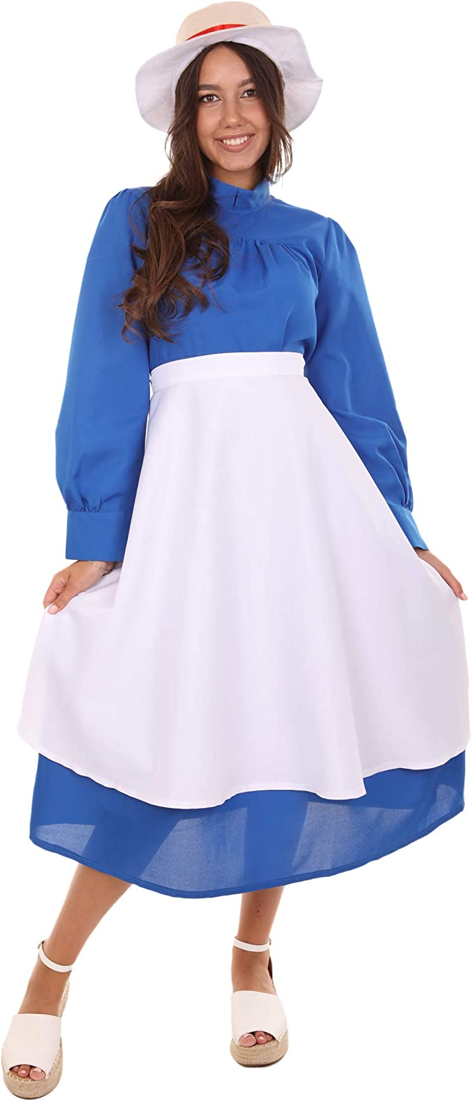 Hot Howl/'s Moving Castle Sophie Hatter Cosplay Costume Free shipping