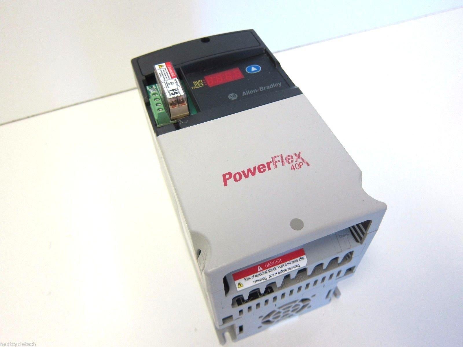 Allen Bradley 22D-D2P3N104 Powerflex40P AC Drive 1HP 3Ph 480VAC