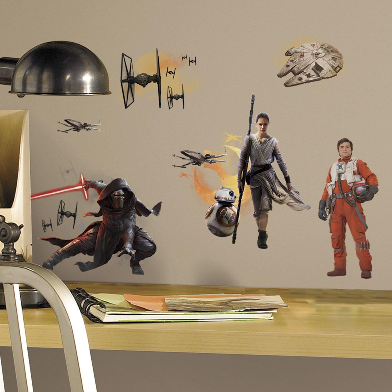 STAR WARS KYLO REN THE FORCE AWAKENS  vinyl wall art sticker decal