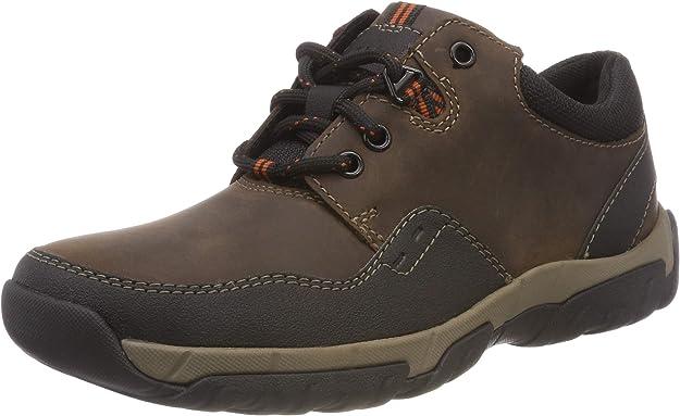 TALLA 39.5 EU. Clarks Walbeck Edge II, Zapatos de Cordones Derby para Hombre