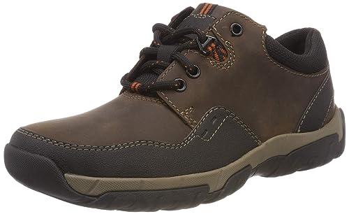 Clarks Walbeck Edge II, Zapatos de Cordones Derby para Hombre