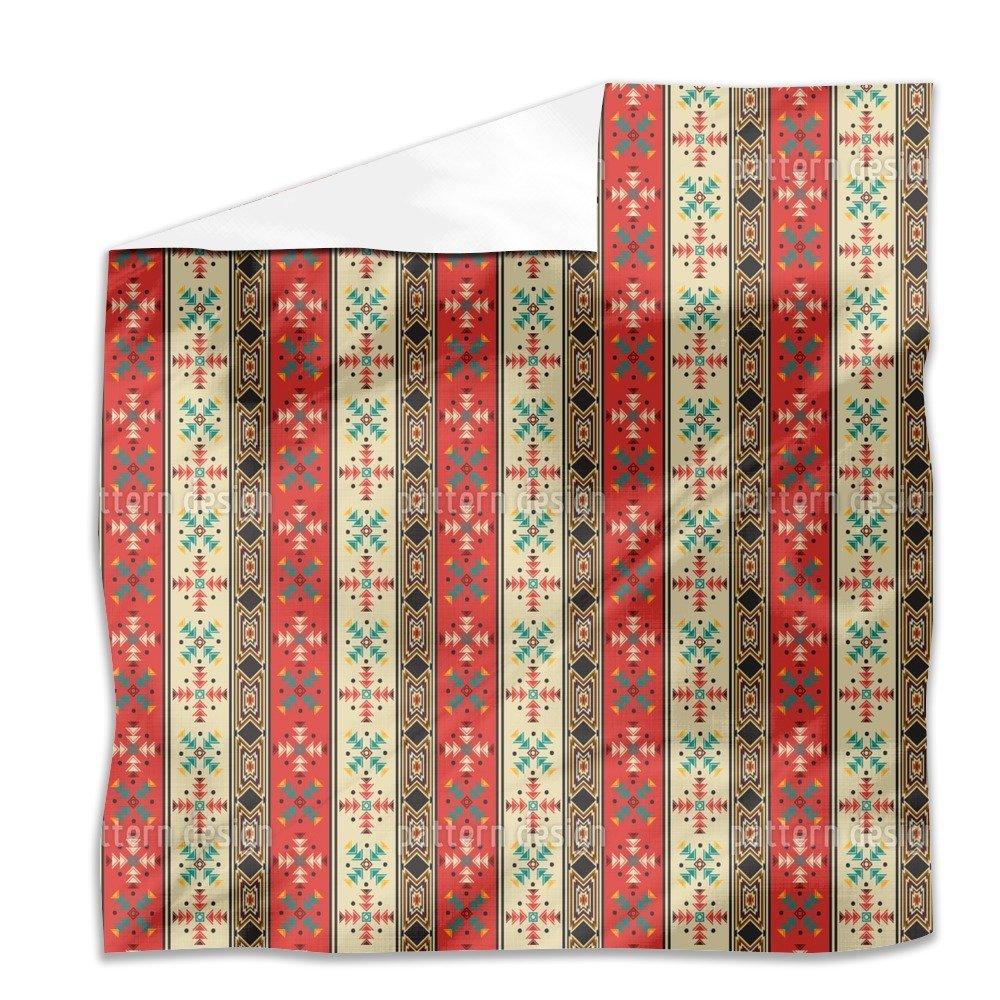 Navajo Style Flat Sheet: King Luxury Microfiber, Soft, Breathable