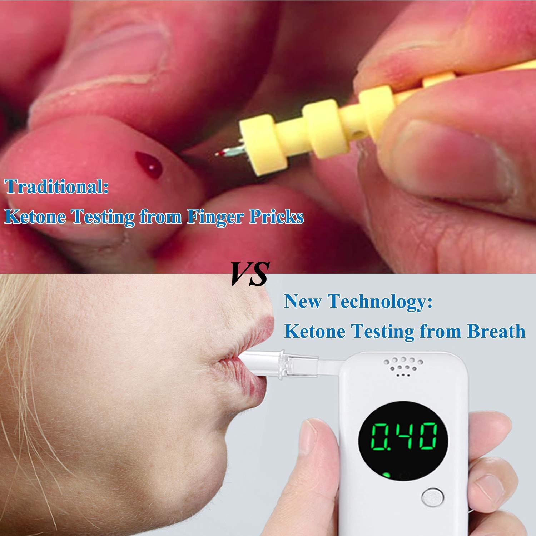 Ketone Breath Meter with Digital LCD Displays for Dietitian Testing by YIKKAI (Image #3)