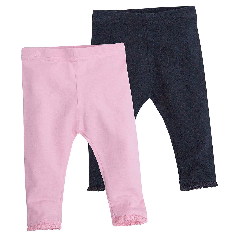 Pack of 4 Lora Dora Baby Girls Cotton Rich Leggings