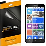 [6 Pack] Supershieldz- Anti-Glare & Anti-Fingerprint (Matte) Screen Protector Shield for Nokia Lumia 1320 + Lifetime Replacements Warranty- Retail Packaging