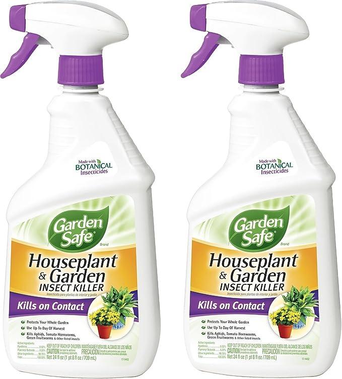 Amazon.com : Garden Safe 80422 Houseplant and Garden Insect Killer 24-Ounce Spray, 2 Pack : Garden & Outdoor