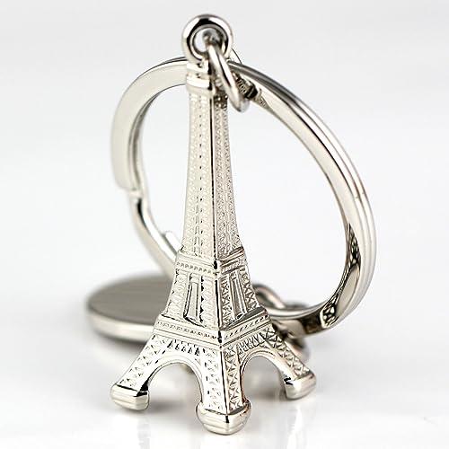 3D llavero París Francia de metal Torre Eiffel CSH15: Amazon ...