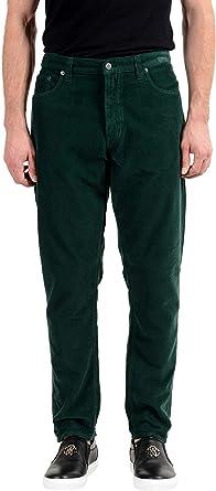 Amazon Com Prada Pantalones Vaqueros De Pana Recta Para Hombre Talla 34 It 50 Clothing