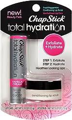 ChapStick Total Hydration Conditioning Lip Scrub, Vanilla Creme, 0.300 Ounce
