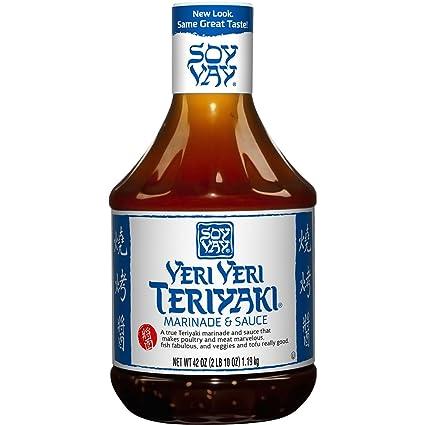 Soy Vay Marinade & Sauce, Veri Veri Teriyaki, 42 onzas ...