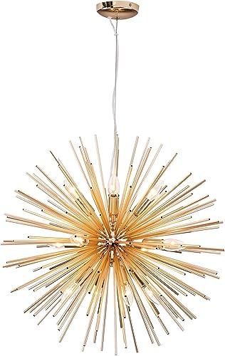 Modern Gold Sputnik Chandeliers Pendant Light fixtures