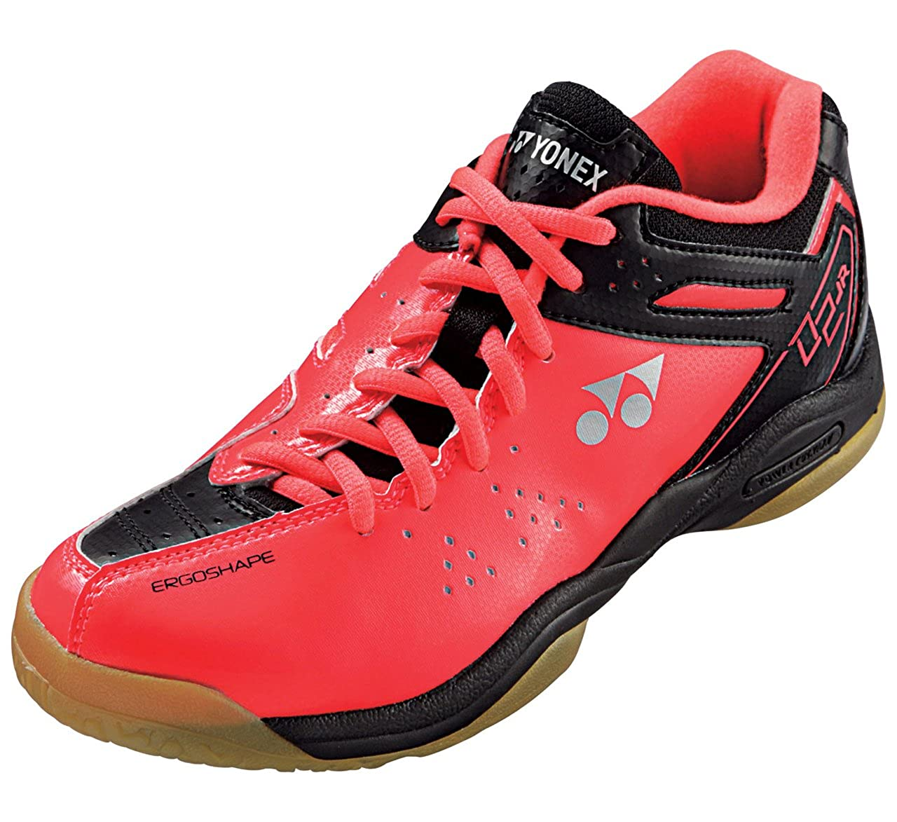 1f22512b4d2 Yonex Men's Power Cushion SHB-02 LTD Limited Edition Badminton Shoe-Bright  Red: Amazon.co.uk: Shoes & Bags