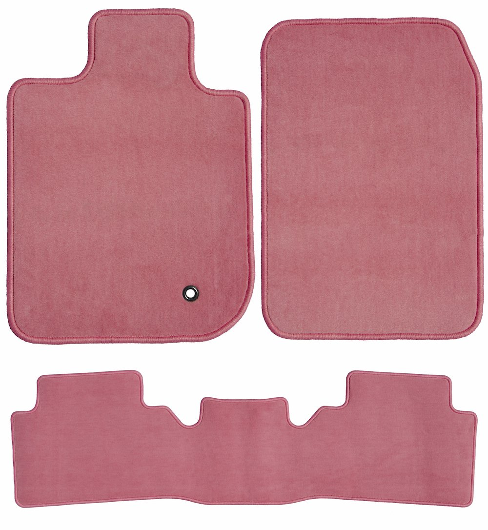 GGBAILEY D50739-S2B-PNK Custom Fit Car Mats for 2013 2014 Passenger /& Rear Floor 2015 Kia Sorento Pink Driver