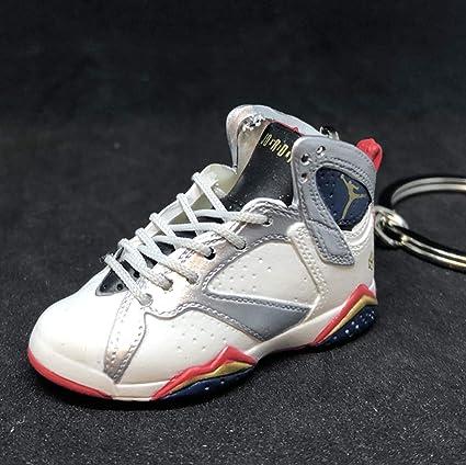 b180615e77ea3 Amazon.com : Air Jordan VII 7 Retro Olympic White Gold OG Sneakers ...