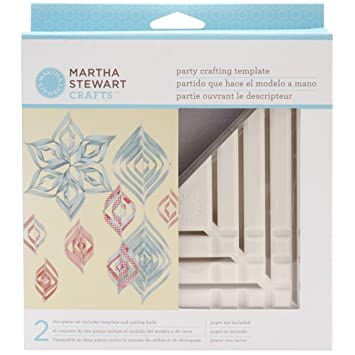 Amazon.com: Martha Stewart Crafts Small Triangle Ornament Template ...