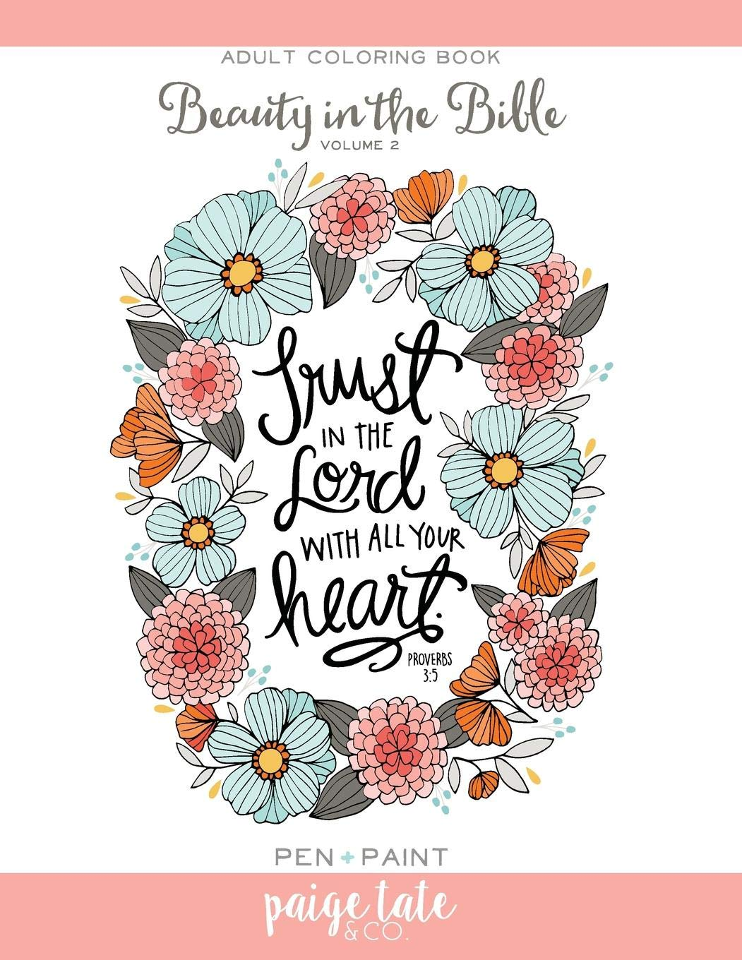 - Amazon.com: Beauty In The Bible: Adult Coloring Book Volume 2