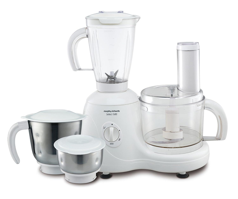buy morphy richards select 500 watt food processor white online at