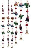 DreamKraft 'Rajasthani' Elephant Door Hangings For Main Door Home Decor (96 CM) -Set of 2