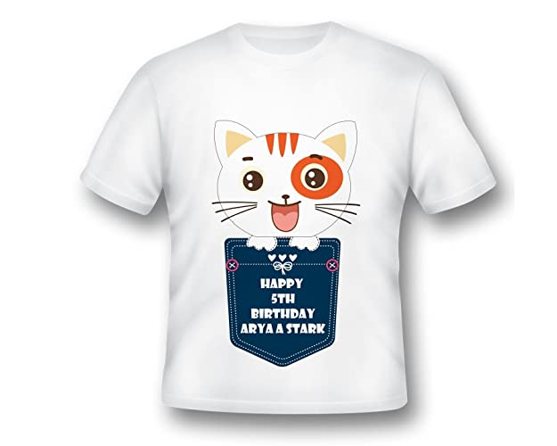 Cat Shirt Lovers Kitten Kitty Birthday