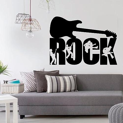 Amazon.com: Rock Guitar Wall Decor - Guitar Players ...