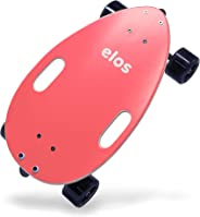 elos Skateboard Complete Lightweight - Mini Longboard Cruiser Skateboard Built for Beginners and Urban commuters. Wide and Stable Skateboard Deck. Non-Electric. Campus Board.