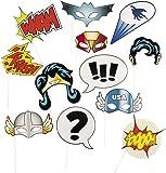 Fun Express 13659365 Super Hero Stick Costume Props