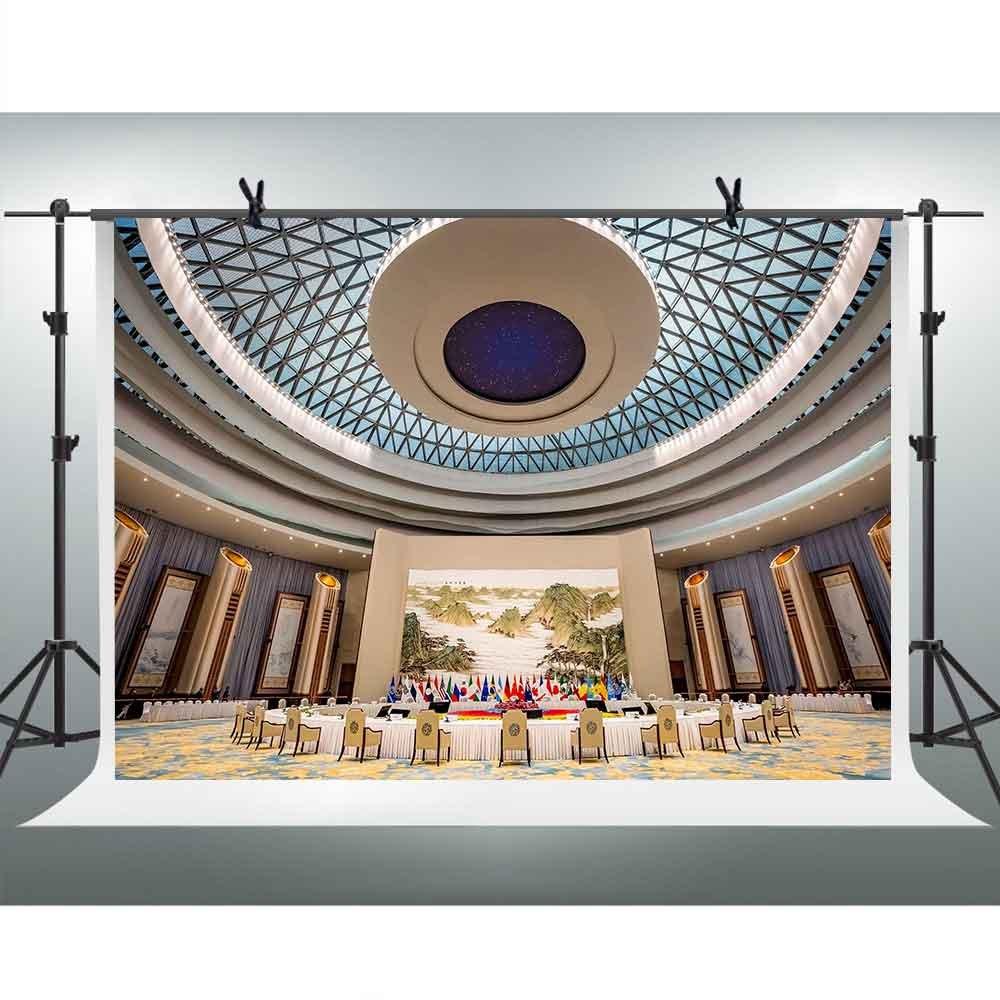 【1着でも送料無料】 FH Props 10 X Room 7ft United Nations Conference X Room Backdrop風景景色壁紙背景の写真YoutubeテーマパーティーバックドロップフォトブースStudio Props tmfh064 B07CZ77DWT, カヅノグン:75e696c5 --- by.specpricep.ru