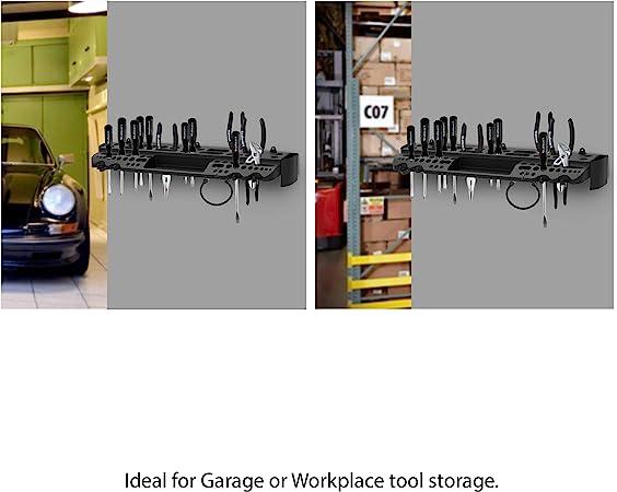 CLEARANCE Q17-901022 STORAGE HOOK GARAGE SHED TOOLS WALL MOUNTED SHELF BRACKET