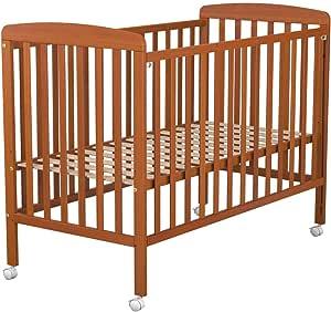 Cuna de bebe Ibaby Dreams Basic. 3 posiciones de somier. Lateral abatible.