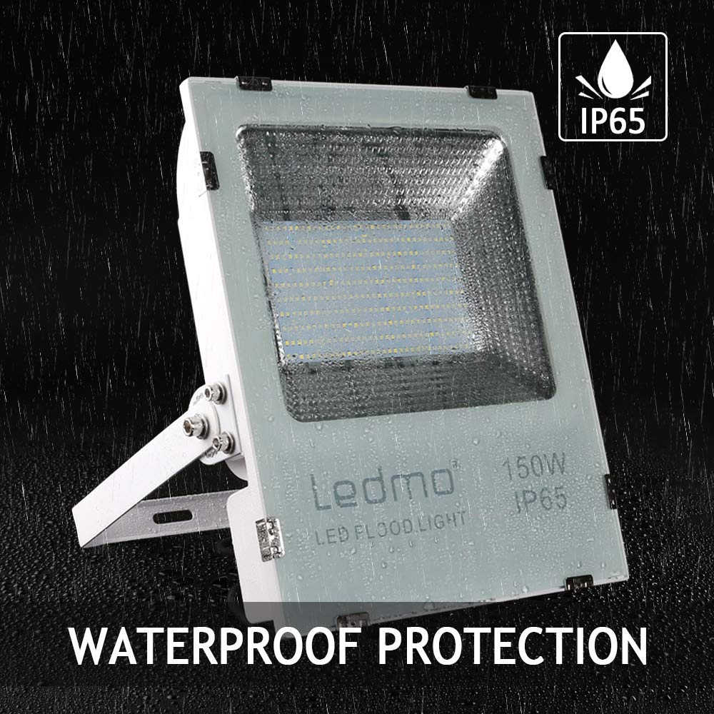 focos led exterior 150W Blanco c/álido 2700K,foco led focos led SMD2835 15000LM proyector led exterior IP65 Impermeable Super brillante