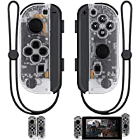 SINGLAND Joy Con Wireless Controller Replacement for Nintendo Switch, Left Right Remote Controllers with Wrist Strap…
