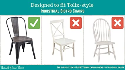 Barnett Home Decor Cojín para Silla Industrial de 14 ...