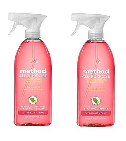 Method Pink Grapefruit Surface Cleaner (2pk)