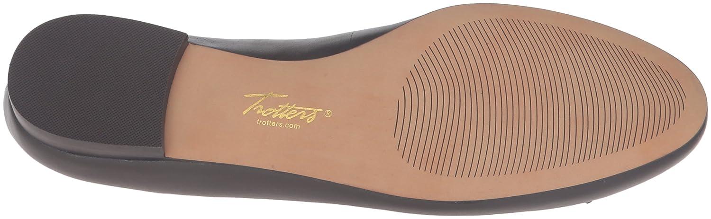 Trotters Women's Caroline Ballet Flat B019R1YSHI 8.5 N US|Dark Brown Cognac