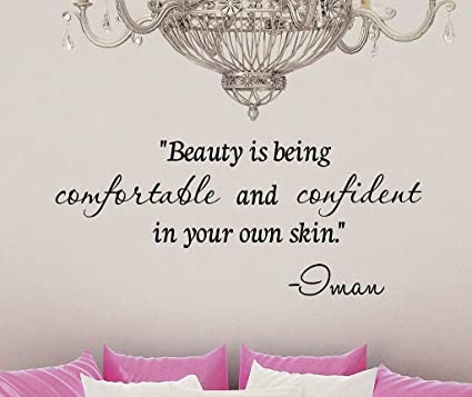 Amazon Beauty Is Being Comfortable And Confident In Your Own New Quotes About Being Confident