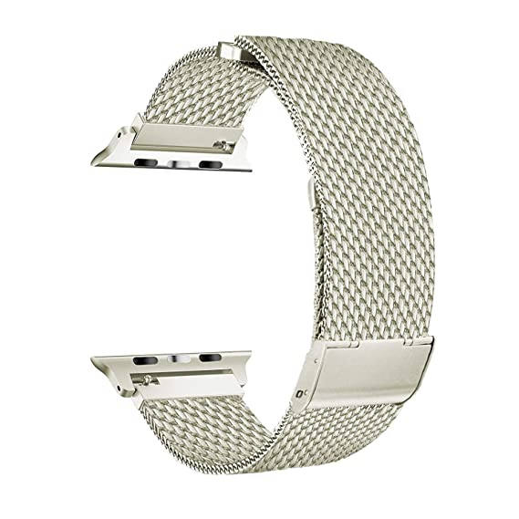 ROSE GOLD MESH Replacement Steel Milanese Strap Band Bracelet for IWATCH 38MM