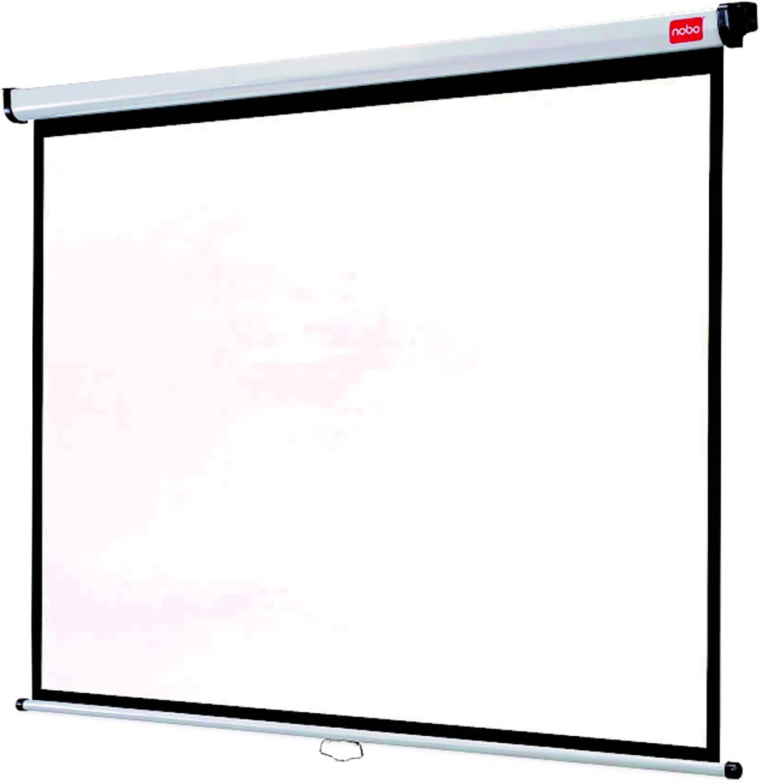 Nobo 1902392 - Pantalla de proyección (175x132.5 cm): Nobo: Amazon ...
