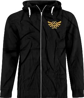 919bfcc2c3c BSW Men s Rorschach Zelda Triforce The Golden Power Crest Zip Hoodie
