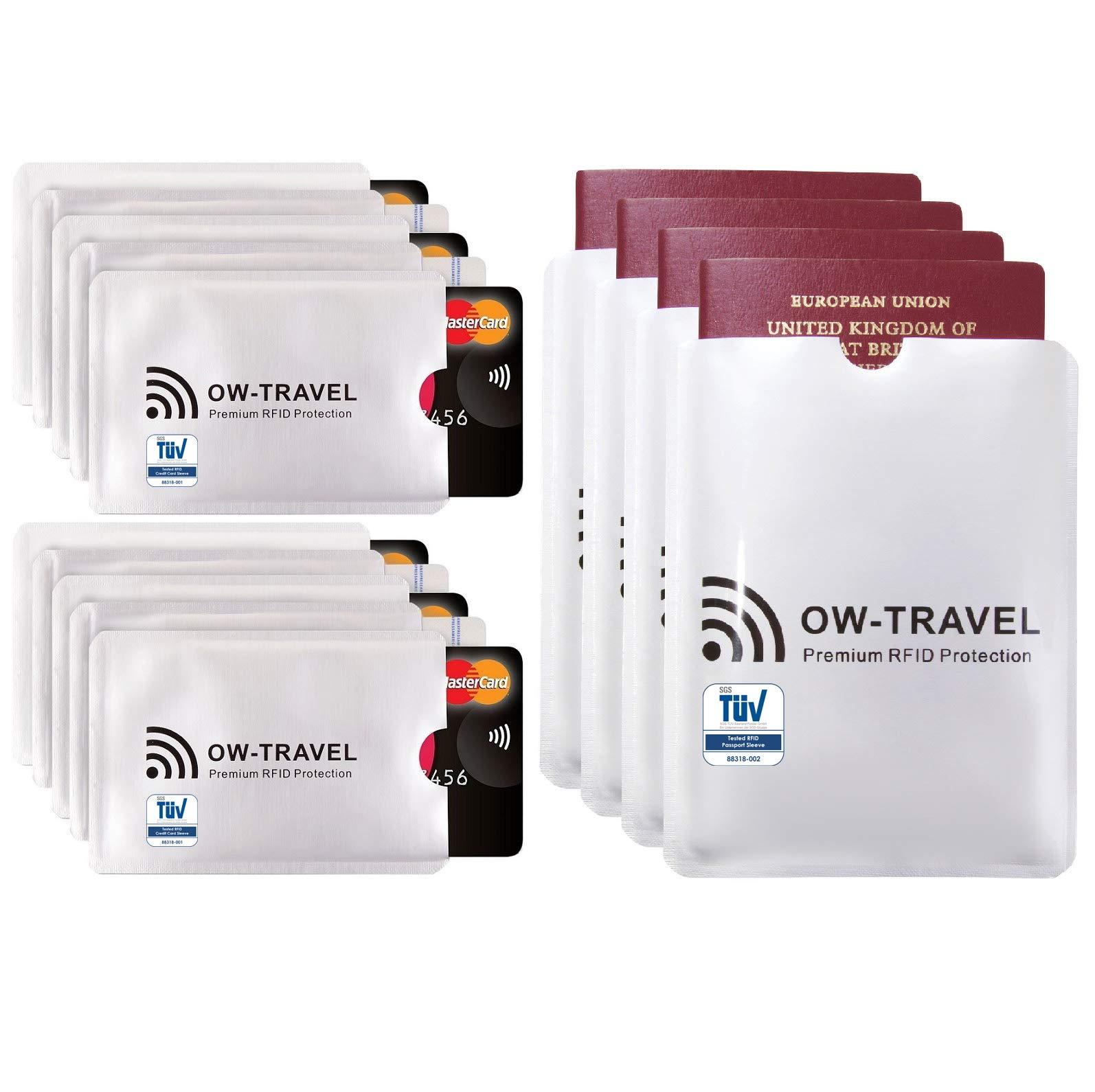 ... Identificaciones -. ✅ Bloqueo RFID - ANTI FRAUDE - Protectores para Tarjetas de Crédito Débito Sanitaria Identificaciones - Protector Pasaporte ...
