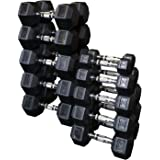 Body Solid Rubber Hex Dumbell