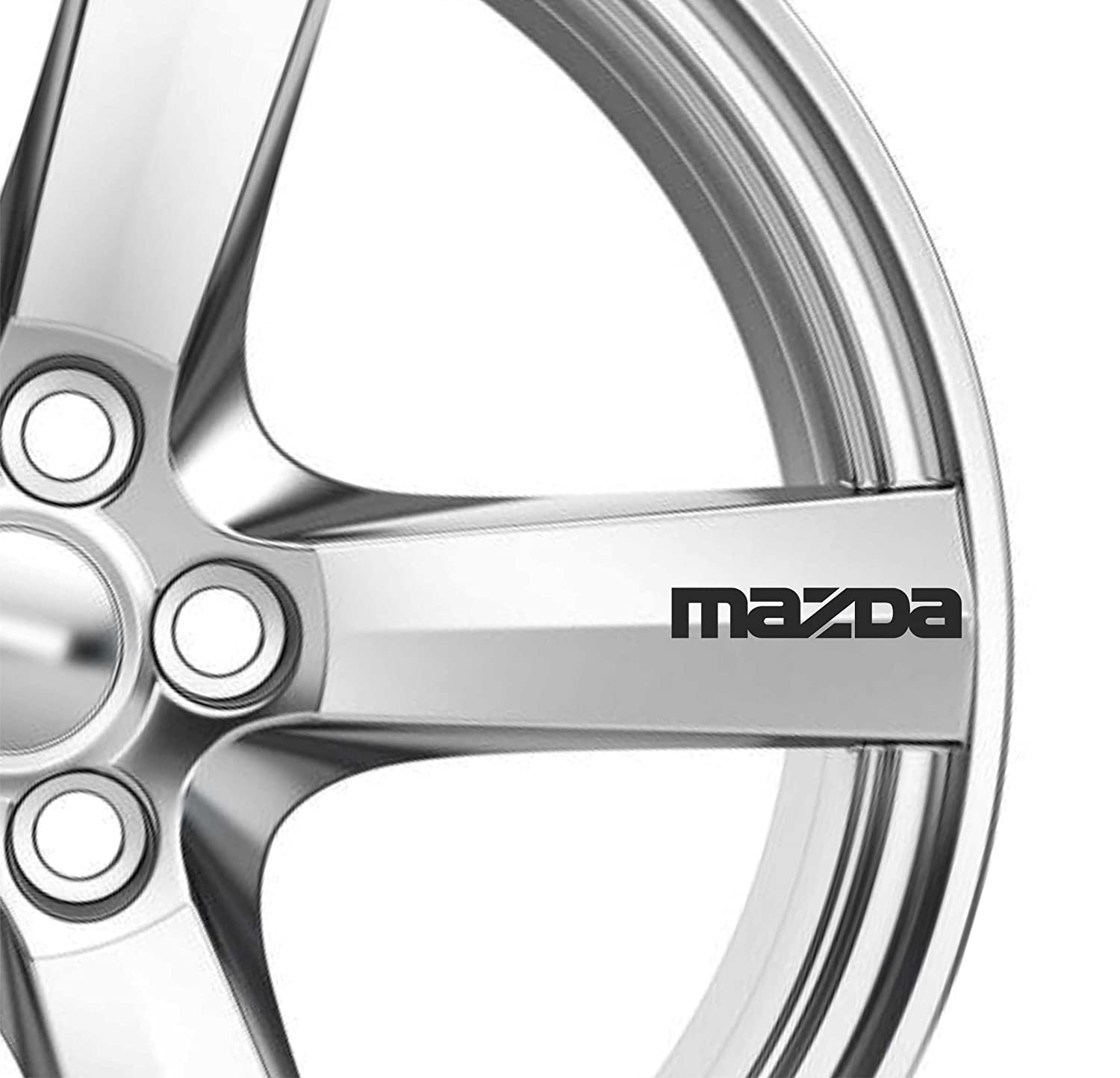 Mazda 6 Decals//Stickers for Alloy Wheels  x 6
