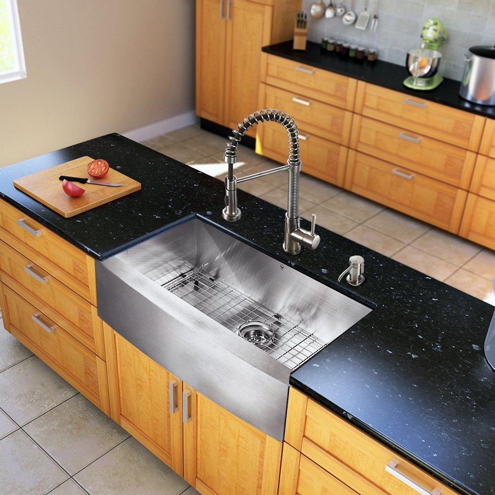 Amazing Kohler Farmhouse Sink For Your House Inspiration: Kohler Vault Farmhouse  Apron Front Stainless Steel